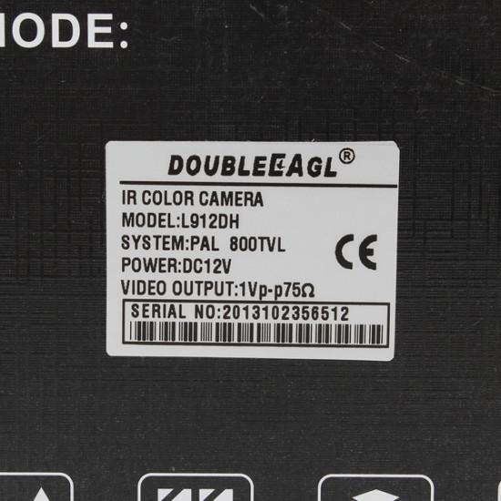 1/4 CMOS 139 + 8510 IR-CUT 800TVL Vattentät säkerhet CCTV Kamera L912DH 2021
