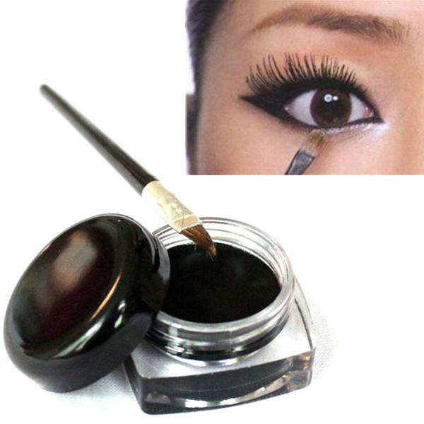 g nstig kaufen schwarze wasserdichte eyeliner gel mit. Black Bedroom Furniture Sets. Home Design Ideas