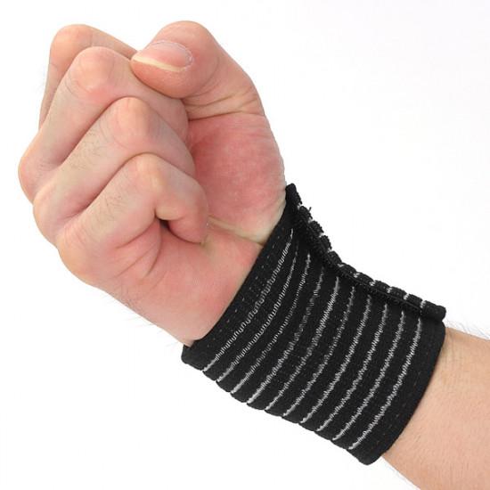 2stk Elastik Brace Protection Wrist Sport Compression Bandage 2021