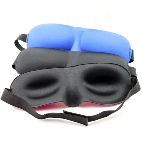 5stk 3D Cotton Sleeping Øjenmaske Øje Shade Travel Nap Cover Blindfold 2021
