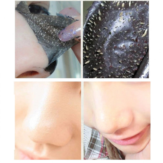 10pcs Deep Sea Mineral Nose Blackhead Removal Peel Mask 2021