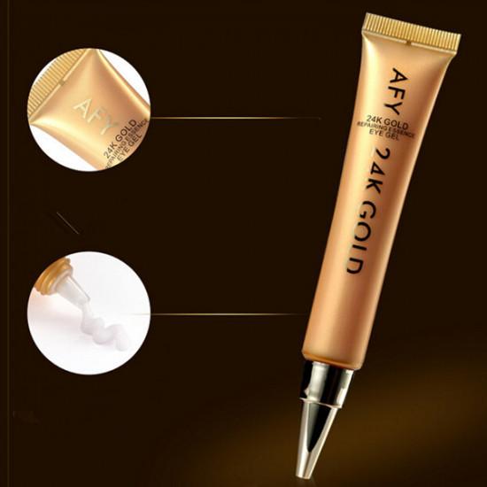 AFY 24K Gold Collagen Essence Eye Gel Cream Wrinkle Repairing 2021