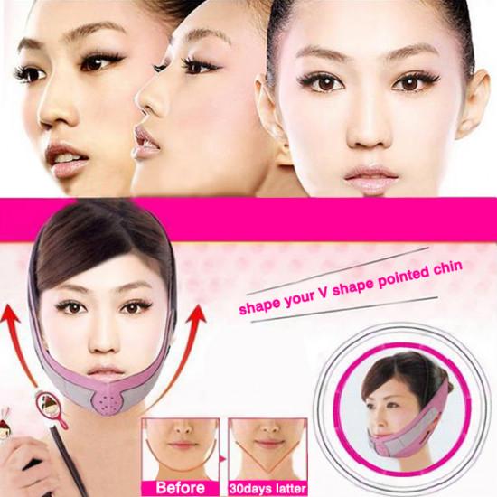 Nylon Face Slimming Belt Face Thining Mask Bandage 2021