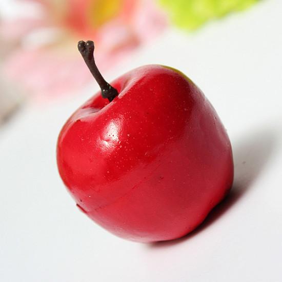 Künstliche Birne Apple Kunststoff Obst Ausgangspartei Dekor 2021