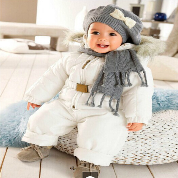 buy baby boy girl winter warm snowsuits overwear cothing set. Black Bedroom Furniture Sets. Home Design Ideas
