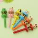 Baby Children Animal Musical Toys Cartoon Wooden Handbell Jingle 2021