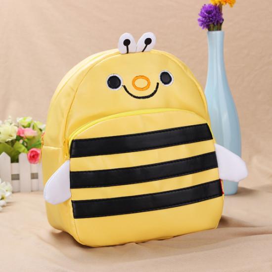 Baby Children Bee Backpacks Cartoon School Bag Bookbag 2021