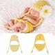 Baby Kind Chrysantheme Crochet Kostüm Fotografie Prop Bekleidung 2021