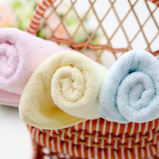 34 * 74cm Baumwolle Bowknot Drucken Handtuch Flach Farbe Badetücher 2021