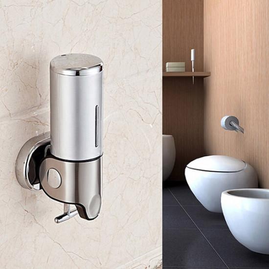 Wall-mounted Manual Soap Dispenser Bathroom Liquid Soap Box 2021