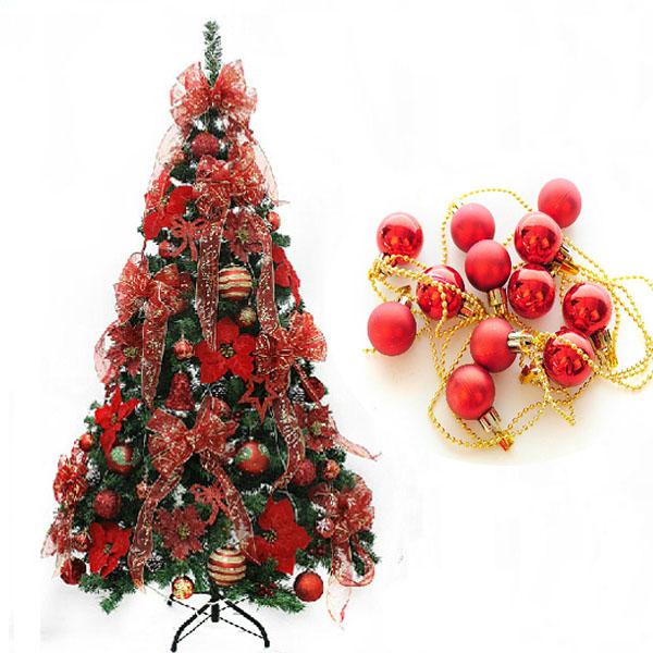 g nstig kaufen weihnachten rote kugel schnur dekoration. Black Bedroom Furniture Sets. Home Design Ideas