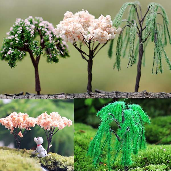 Buy Mini Landscape Tree Cherry Willow Tree Home Garden