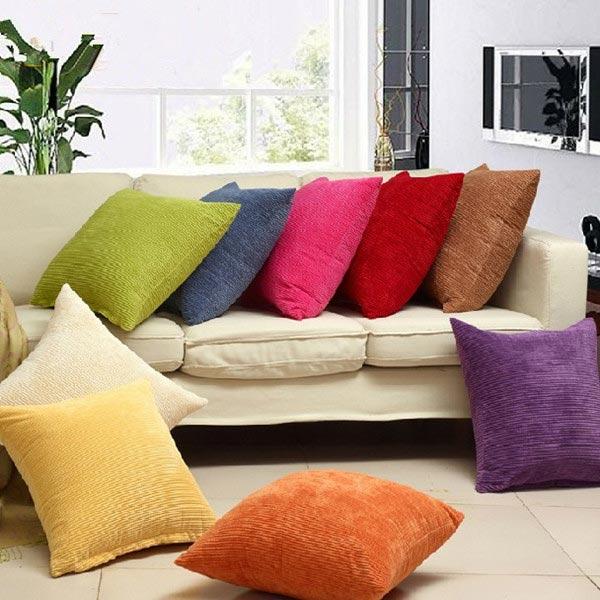 buy corn kernels corduroy sofa decor pillow cases zippered cushion cover. Black Bedroom Furniture Sets. Home Design Ideas
