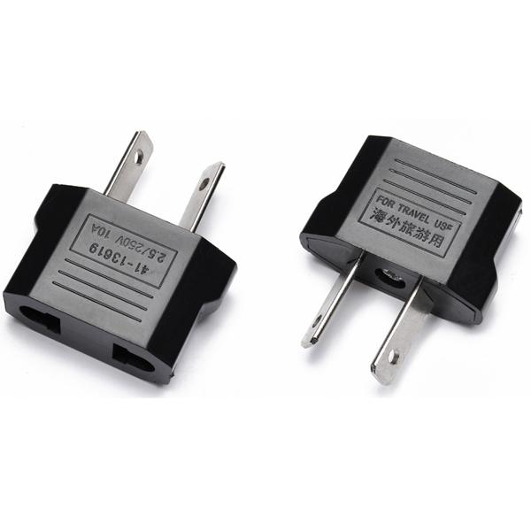 Køb AUS til USA AUS til Canada AC-adapter Spredte Stik | BazaarGadgets.com