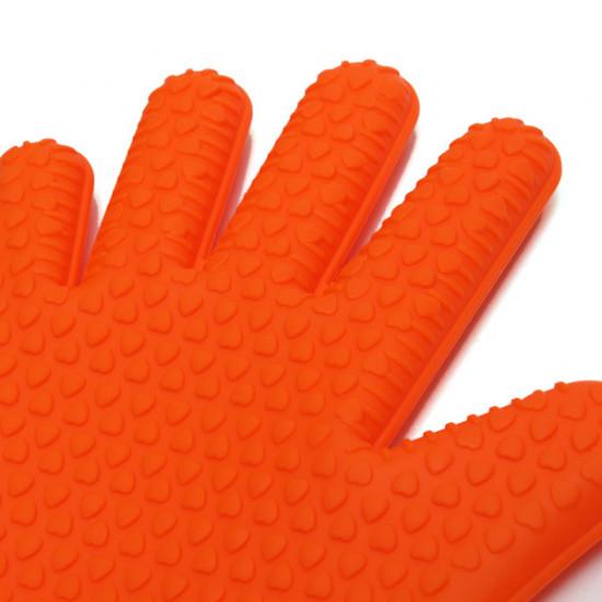 1 st Köksredskap Heat Resistant Handske Ugn Grytlapp BBQ Glove 2021