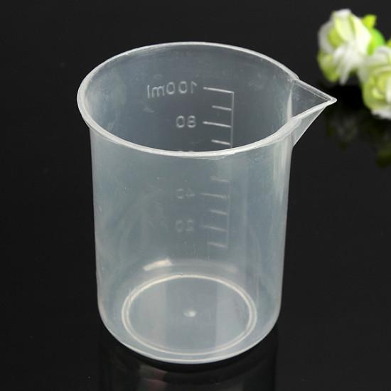 4st Laboratory Kök Test Plastbägare Mätning Cup 2021