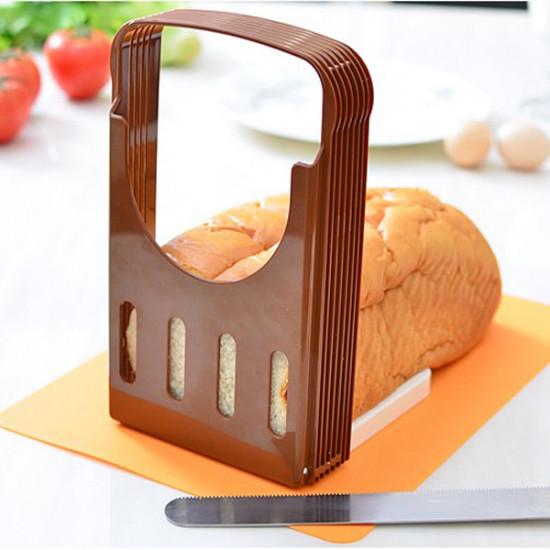 Bröd Cut Loaf Toast Skivare Cutter Skiv Guide Köksredskap 2021
