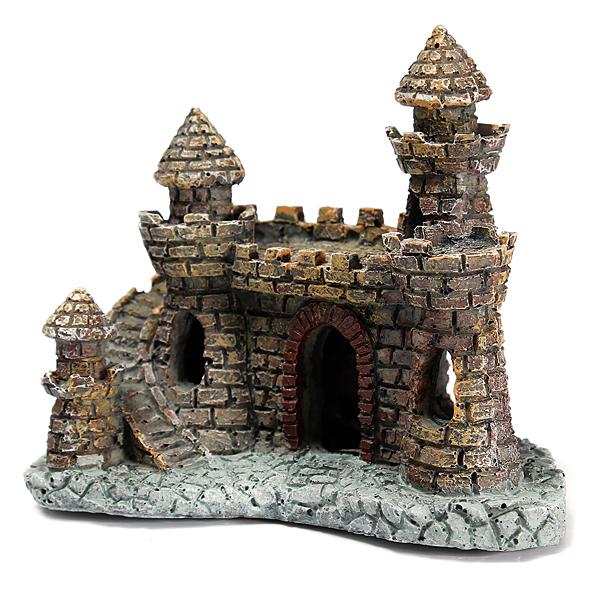 Buy aquarium castle tower ornament for fish tank for Tower fish tank