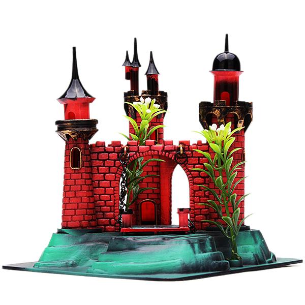 Buy castle action air aquarium ornament for Aquarium decoration kits