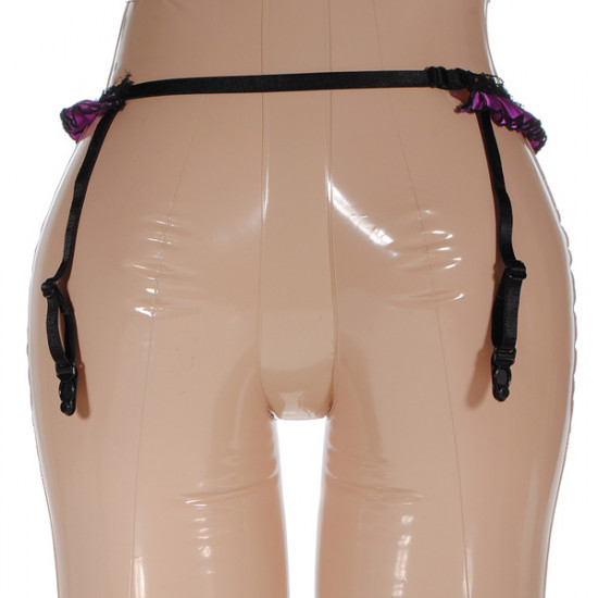 Mini Lace Up Garter Sexy Intim Wear Silk Stockings Garter 2021