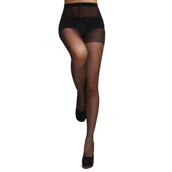 Sexy Women Open Crotch Thin Stockings Tights 2021