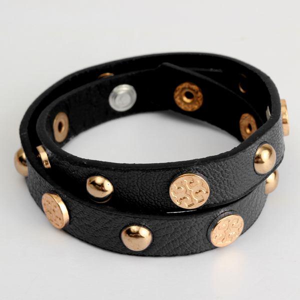 Buy rivet charm button wrap leather bracelet women men for Rivets for leather jewelry