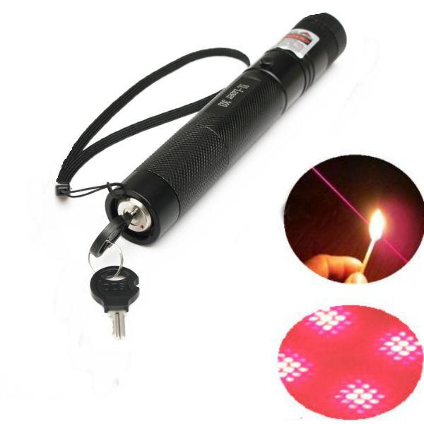 Buy G303 Adjustable Focus 650nm 5mw Red Laser Pointer