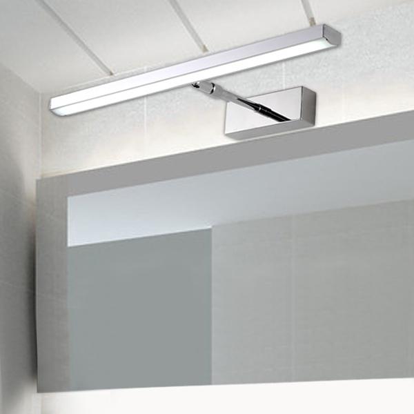 Acheter 6w acier inoxydable r tractable miroir applique for Acheter miroir salle de bain