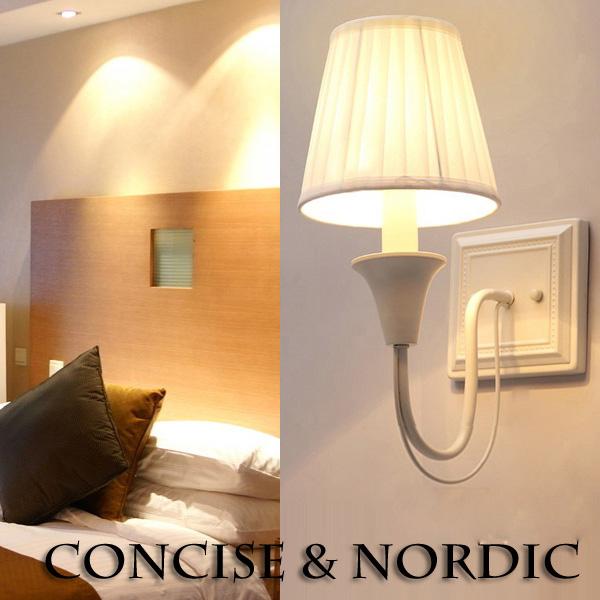 Acheter american style tissu applique pour chambre lampe for Lampe de chevet style anglais