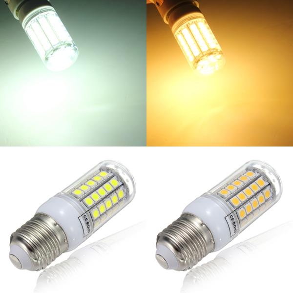 Buy E27 6W 59 SMD 5050 Energy Saving LED Light Bulbs AC ...