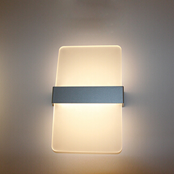 Wall Lights In Office : Buy Simple Fashion Aluminum LED Wall Light Living Room Bedroom Office BazaarGadgets.com