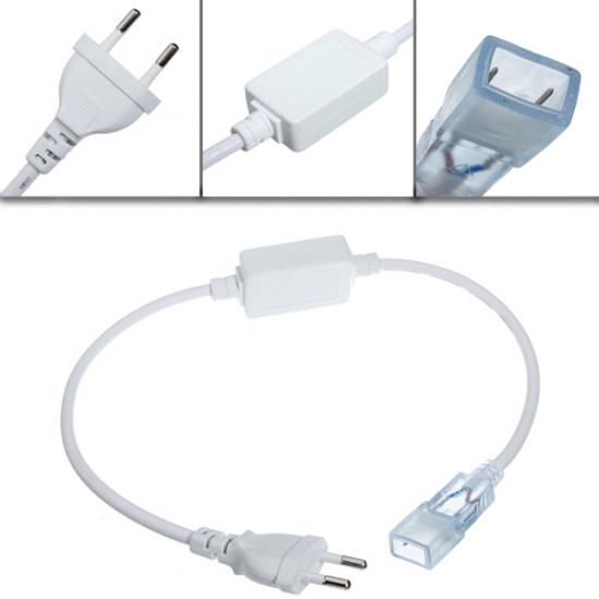10M 3W / M 600LED SMD 3528 LED Bånd Lysbånd Vandtæt IP66 220V 2021