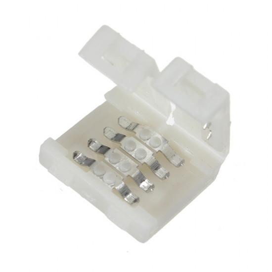 10x10mm Bredde Stik Til RGB 5050 LED Bånd Lysbånd Lys Så Let at Bruge 2021