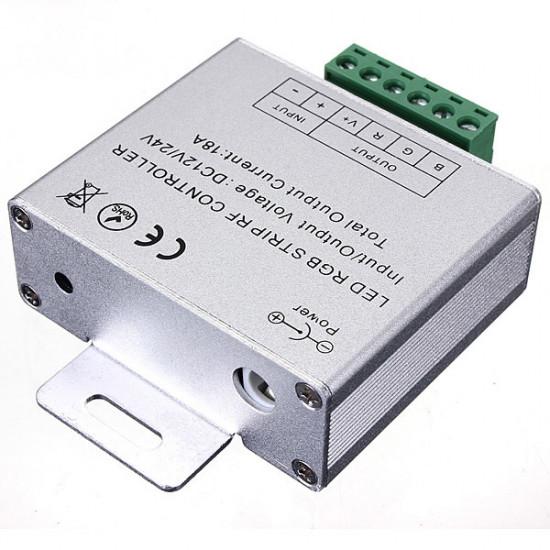 18A Touch Dimbar Remote Trådlös RF Controller för Led RGB Slinga 2021