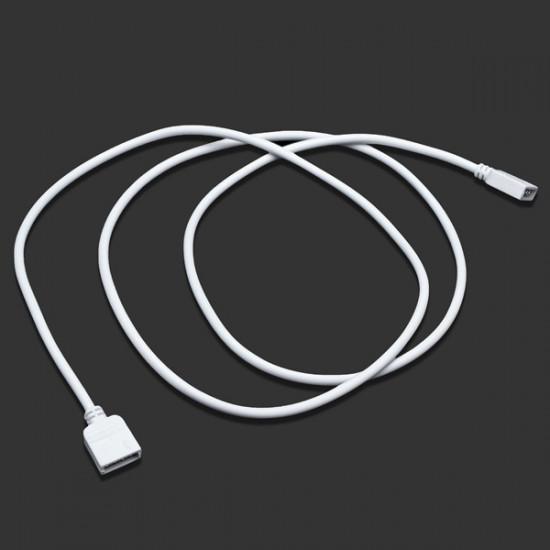1M 4-Pins Forlængerledning Wire Stik Til 5050/3528 RGB LED Bånd Lysbånd 2021