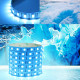 1M SMD 5050 60LED Icke-vattentät Ice Blå LED Slinga Lights 12V 2021