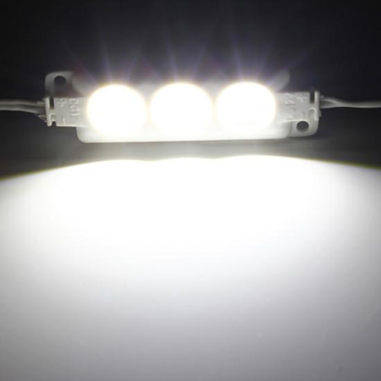1st Molding Vattentät 3LED 5630 SMD-modul Ljus Vit / Varmvit 2021