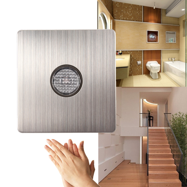 Sound And Light Control Delay Motion Sensor Switch For: Buy 220V Wall Mount Voice Light Sensor Switch Sound&Light