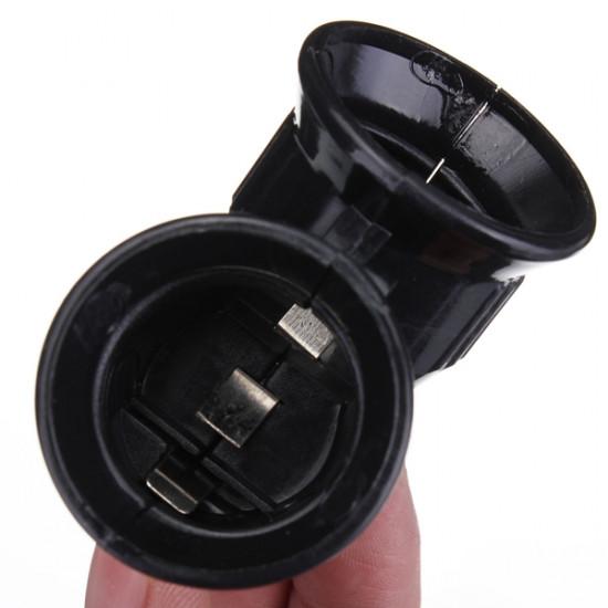 E27 1 till 2 E27 LED Lampa Adapter Omvandlare Konverter Splitter Base Sockel 2021