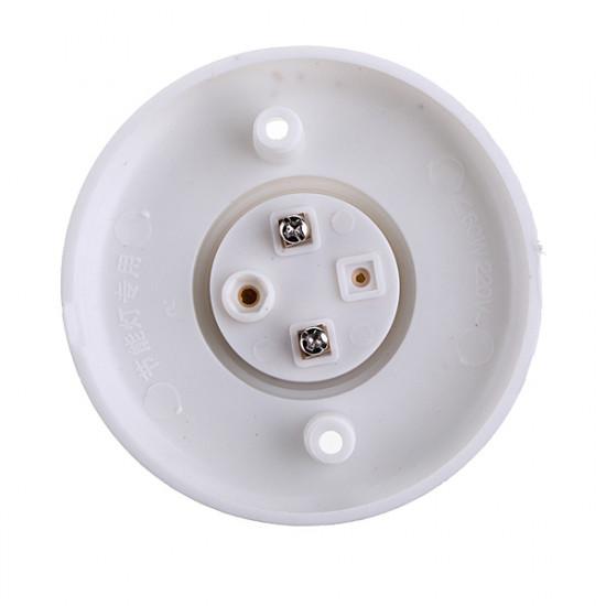 E27 Skruvsockel Runda Plast Glödlampa Sockel Hållare Adapter 2021