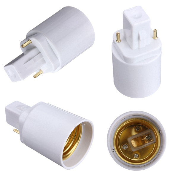 acheter ampoule g24 pour e27 socket base de led holder lampe adaptateur convertisseur. Black Bedroom Furniture Sets. Home Design Ideas