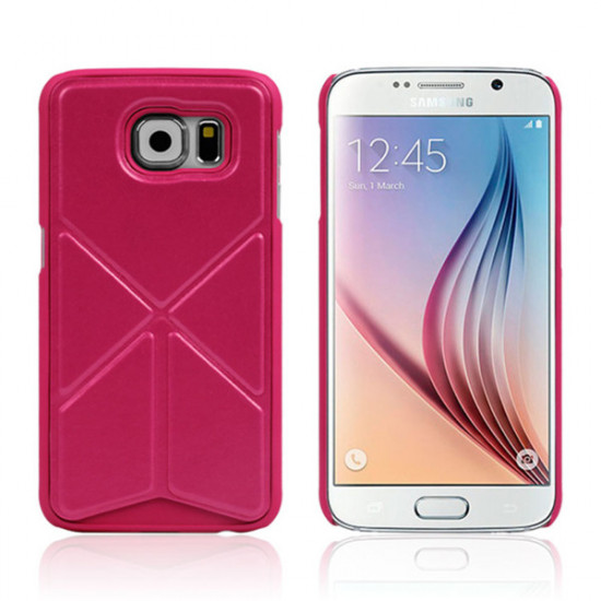 Stand Holder Leather Protective Case Cover For Samsung Galaxy S6 2021