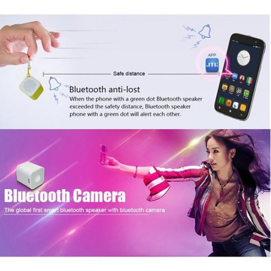Bluetooth Speaker With Anti-Lost/Remote Shutter Mini Music Player 2021