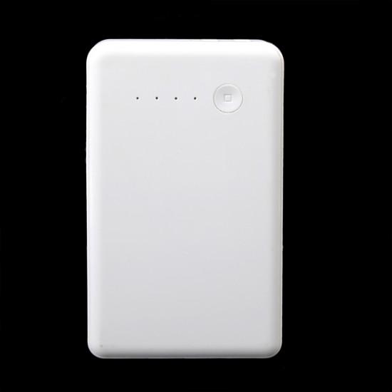 10000mAh Universal Dual USB med EU US Plug Portable PowerBank 2021
