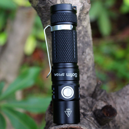 Sofirn SP10A Mini LED mode 5 mode 570LM Mini LED Ficklampa 2021