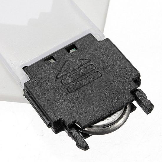 10stk bewegliche LED Karten Licht Taschenlampe Portemonnaie Notlicht 2021