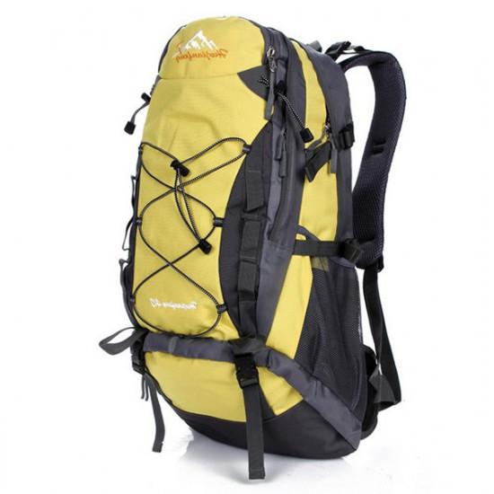 40L Camping Traveling Mountaineering Waterproof Backpack 2021