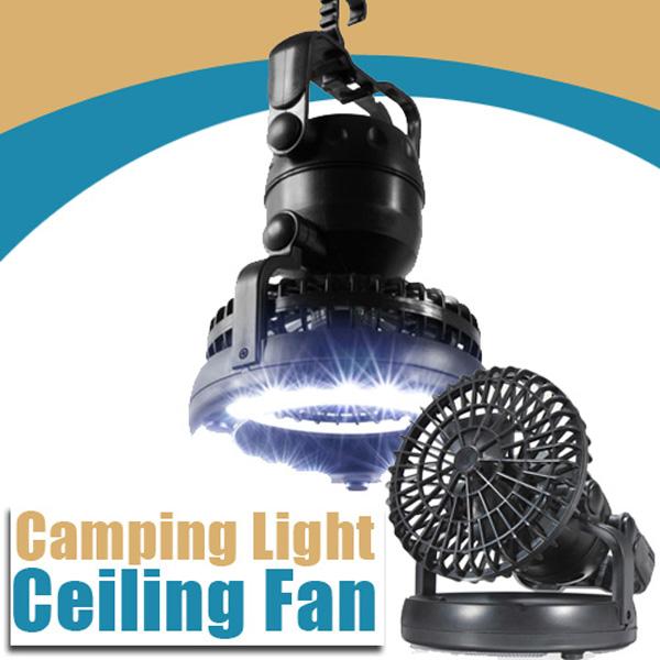 K 246 P Camping 2 I 1 Led Ljus Och Takfl 228 Kt Anv 228 Nda I Tent