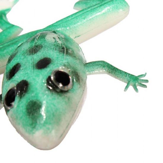 10pcs Portable Fishing Lure Soft Bait Soft Frog Freshwater 2021
