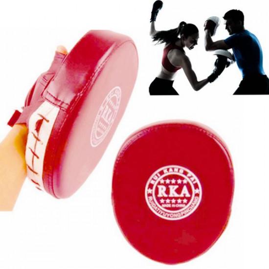 Boxtraining Mitt Ziel Fokus Durchschlags Auflage Handschuh für MMA Karate Muay Thai Kick 2021